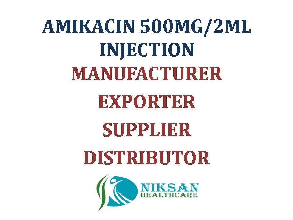 AMIKACIN 500MG/2ML INJECTION