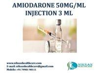 AMIODARONE 50MG/ML INJECTION 3 ML
