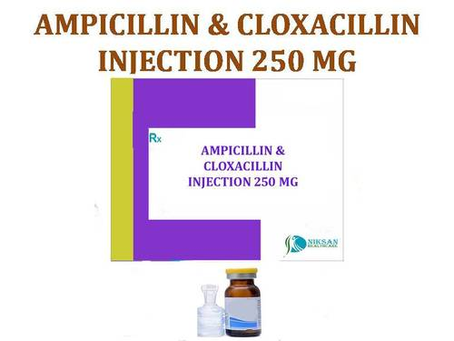 AMPICILLIN & CLOXACILLIN INJECTION 250 MG