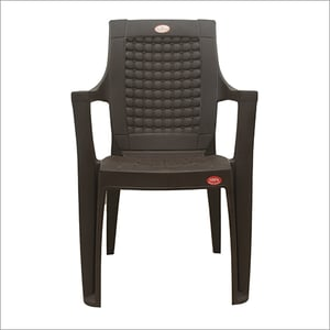 Back Support Plastic Chair