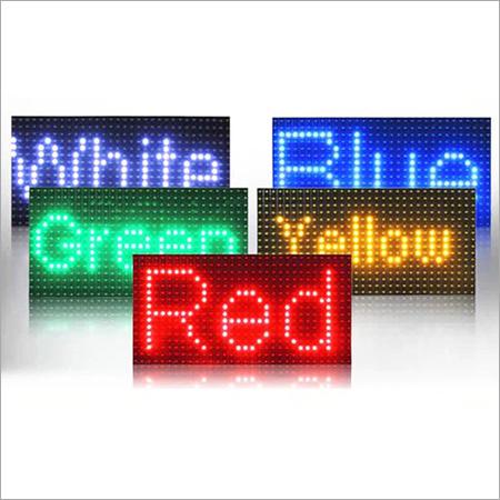 P10 Single Color LED Module