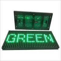 P10 Green LED Module
