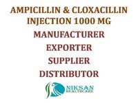 AMPICILLIN & CLOXACILLIN INJECTION 1000 MG