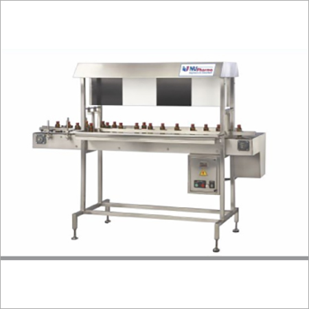 Manual Vial And Bottle Inspection Machine