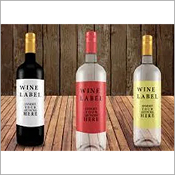 Label Stock For Beverage Bottles