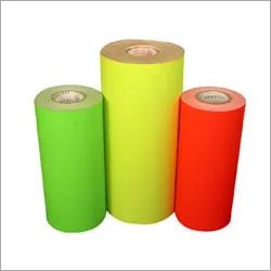 Fluorescent Paper Label