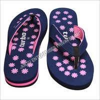 Ladies Dotted Printed Slippers