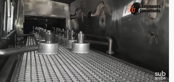 Industrial Component Washer Machine