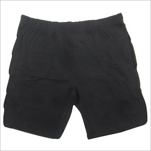 Mens Organic Black Shorts