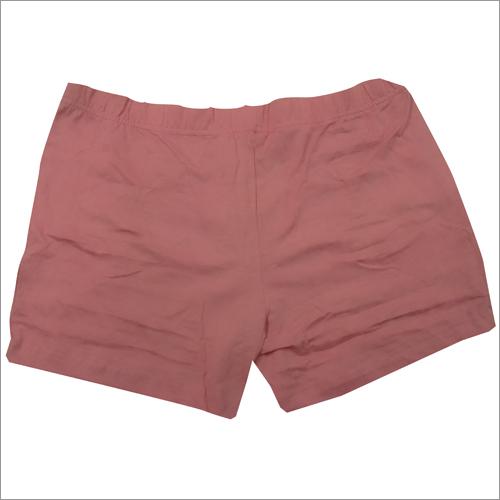 Womens Organic Pink Short