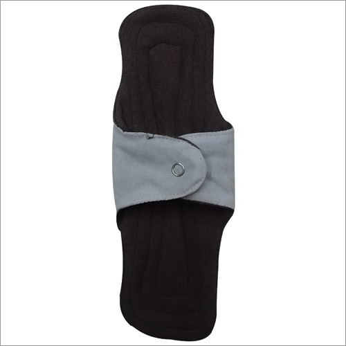 Womens Menstrual White and Black Pad