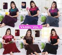 Vassu Vol-1 Nighty Gown