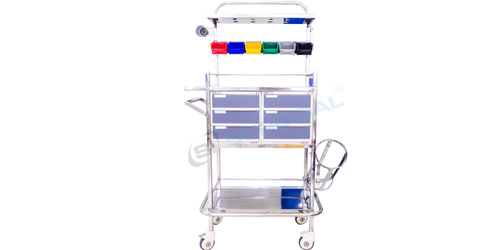 Crash Cart Trolley (Sis 2057a)