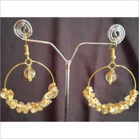 Citrine Agate Earrings