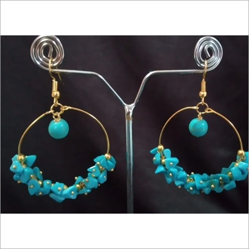 Firoza Agate Earrings