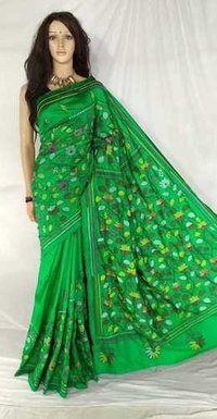 Kantha Stich Saree