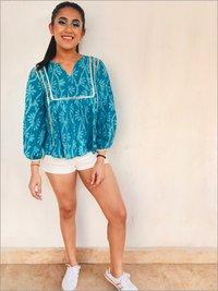 Batik Top in Cotton