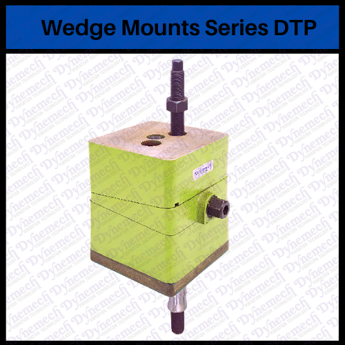 Dynemech Wedge Mounts, Series DTP ( Wedge-Mounts-Bolt Thru)