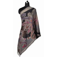 Boiled Wool Embroidery Stoles