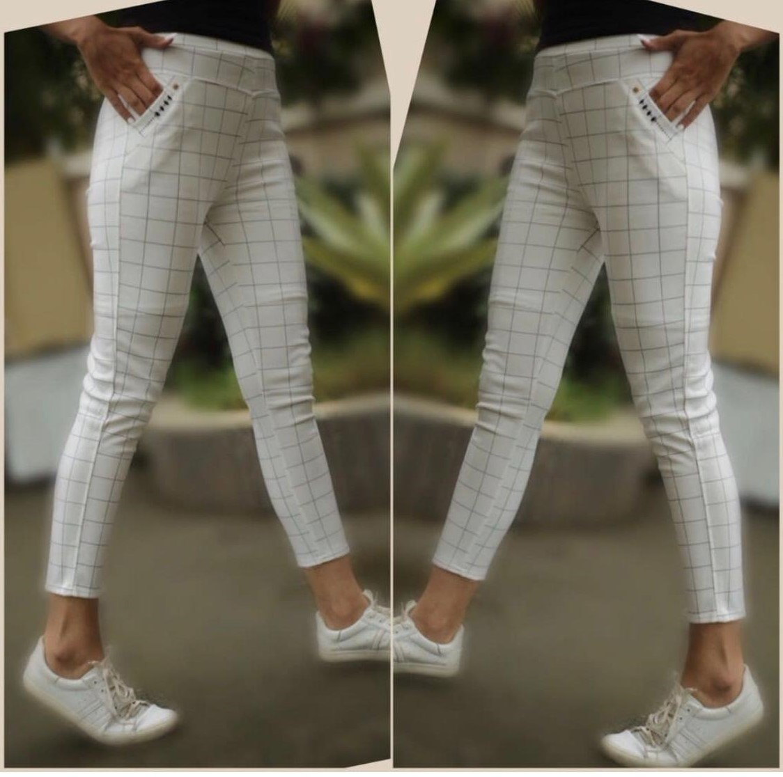 Imported Chex Ladies Pant