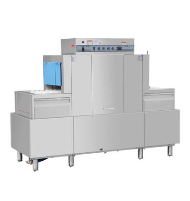 Full Automatic Dish Washer Machine Long Tunnel Type Dishwasher