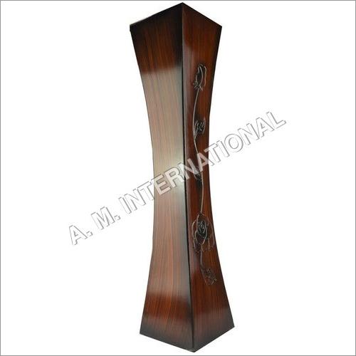 Wooden Flower Long Vase