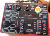 The LED power supply test assistant