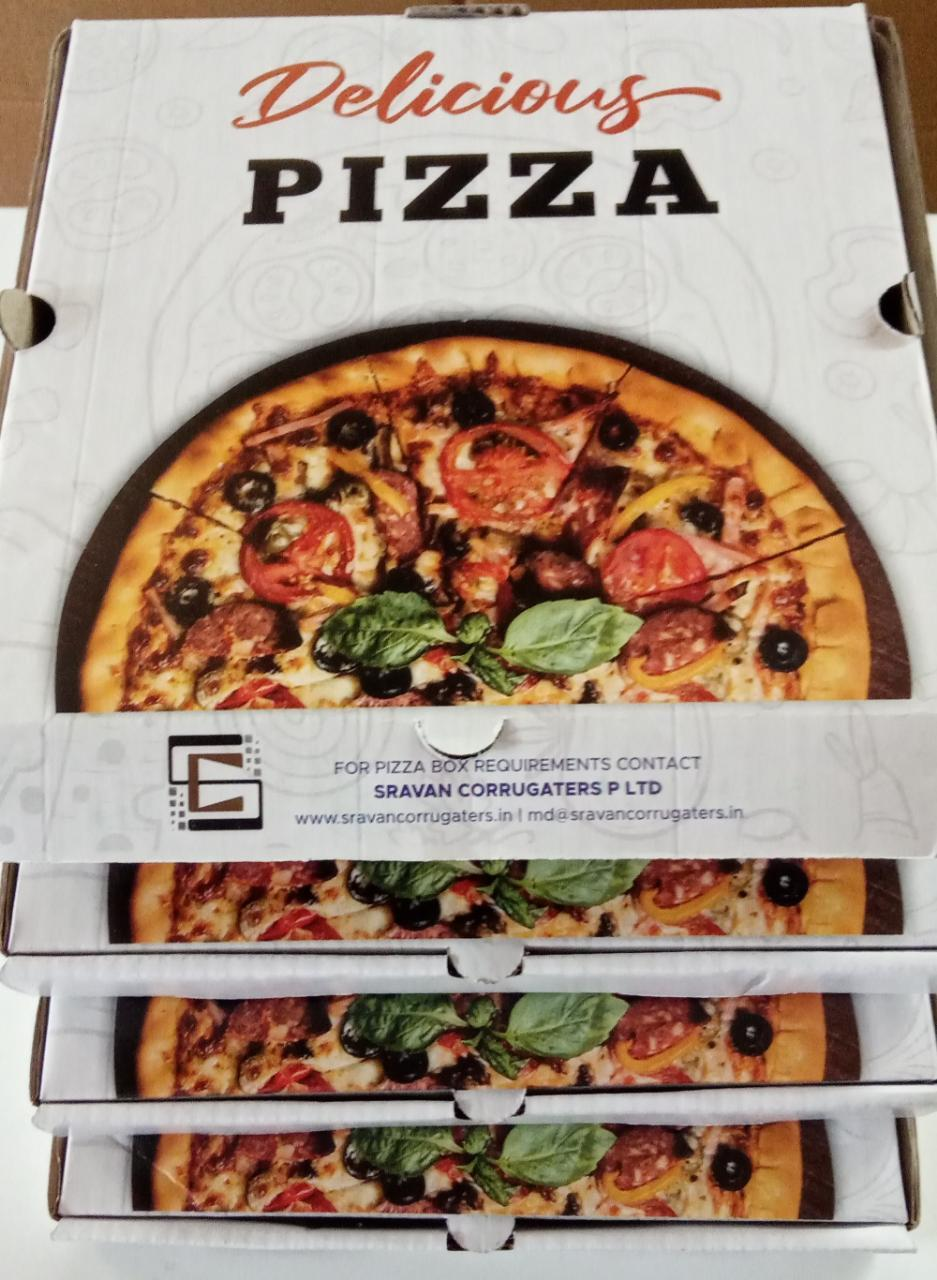 pizza SRAVAN BRAND -corrugated-boxes