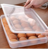 24 Grid Clear Egg Box