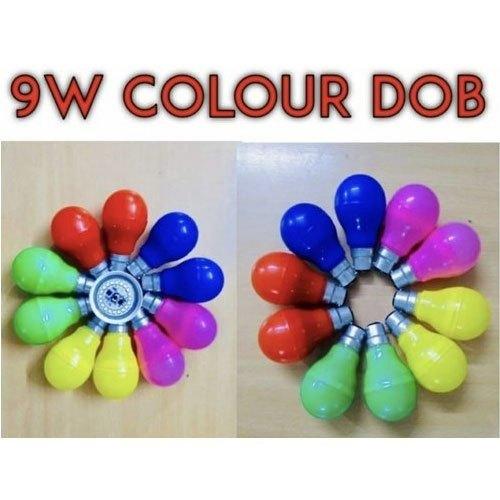 9w Led Color Dob Bulb