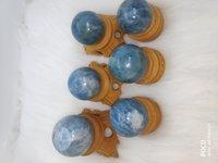 Blue Aquamarine spheres