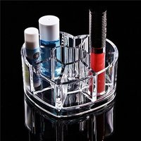 Acrylic Heart Cosmetic Organiser