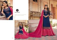 Blue Berry Vol-3 Model Satin Silk With Heavy Embroidery Work