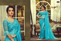 designer party wear saree