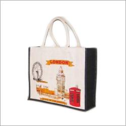 Jute Printed Promotional Bags