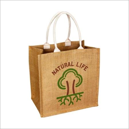 Jute Promotional Handle Bags