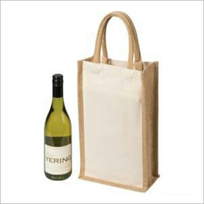 Jute Single Wine Bags