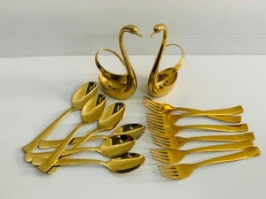 Gold Plated Spoon