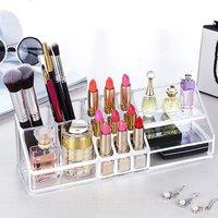 Acrylic Cosmetic Organizer - 14 Cavity