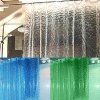 Translucent Shower Curtain (Random Colors)