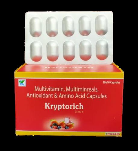Multivitamin , Multimineral, Antioxidant & Amino Acid Capsule  Kryptorich