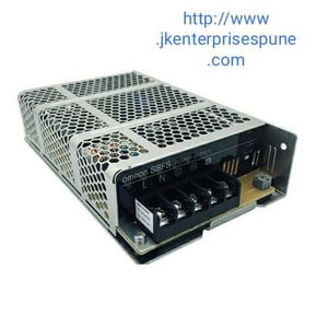 Omron S8FS-C01505D power supply 15 W, 100-240 VAC input, 5 VDC, 3 A output with Din Rail