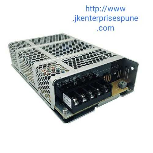 Omron S8FS-C01512J power supply 15 W, 100-240 VAC input, 12 VDC, 1.3 A output