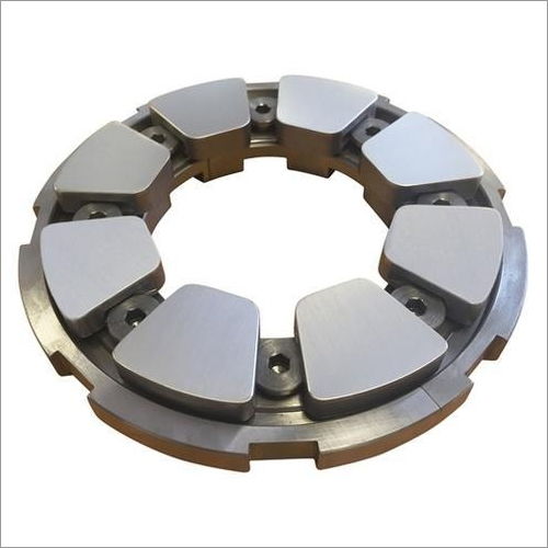 Thrust Pad Bearing For Turbine