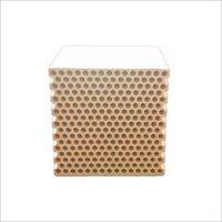 Application of Honeycomb Ceramic Regenerator in HTAC