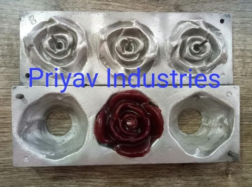 Flower Candle Mold