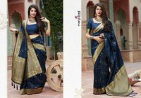 Traditional Banarsi silk satin Sarees