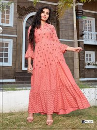 stylish flair kurti