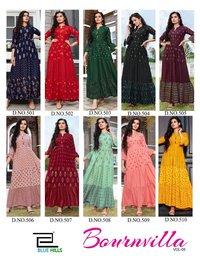 stylish flair kurti