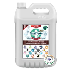 PaxClean PRO Super Concentrated One Step Disinfectant Sanitizer Cleaner